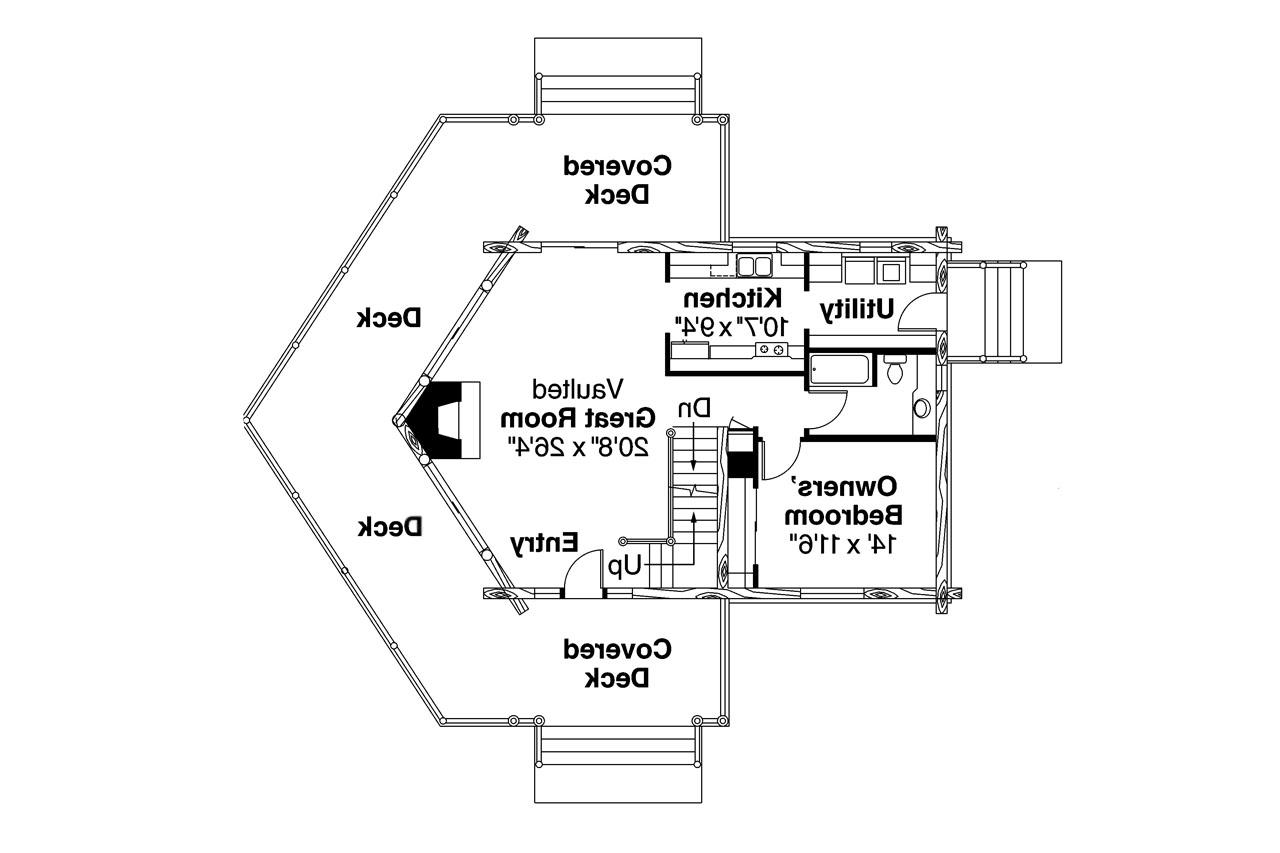 a frame house plan stillwater 30 399 1st floor plan - A Frame House Plans