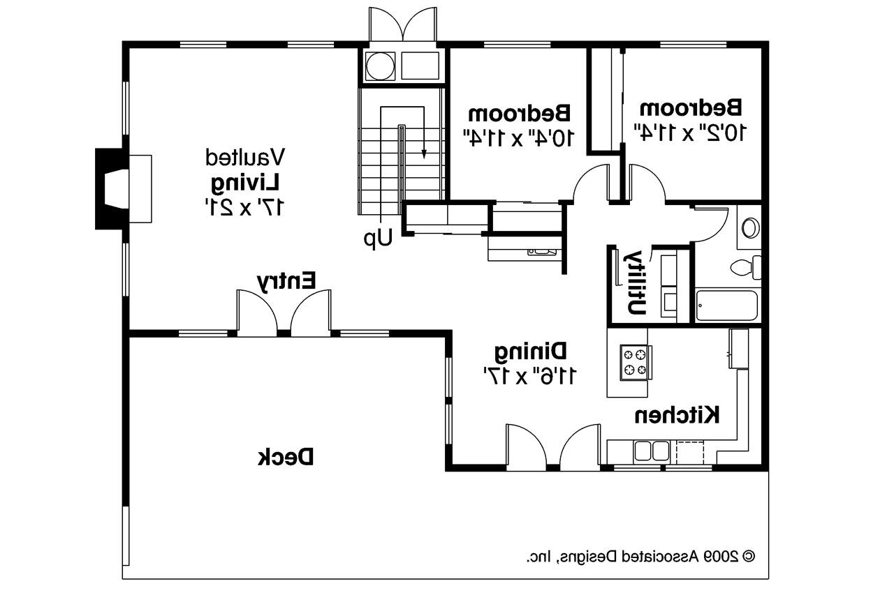 A plan of a simple house for Floor plan websites