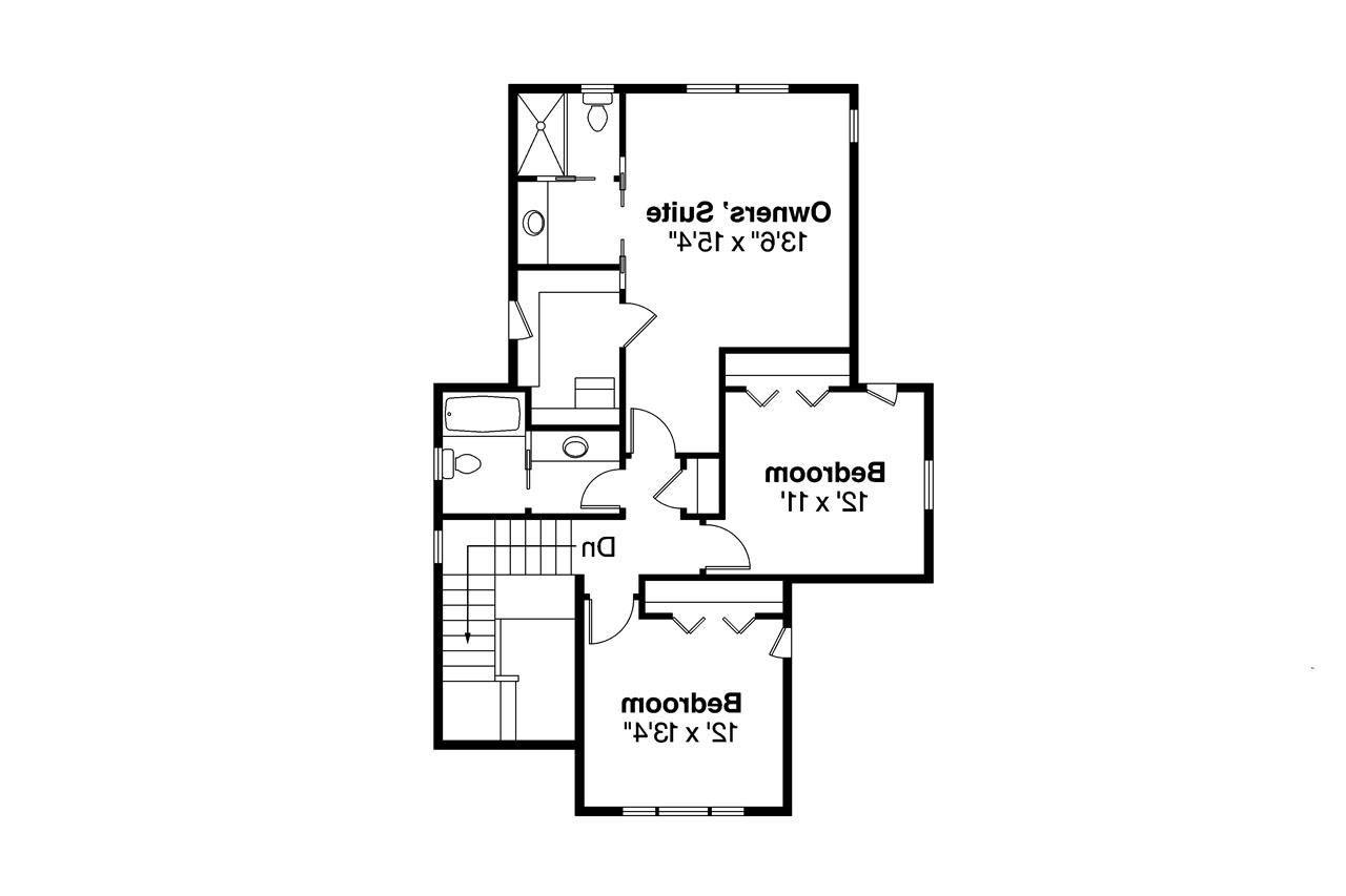 bungalow house plan greenwood 70 001 1st floor plan