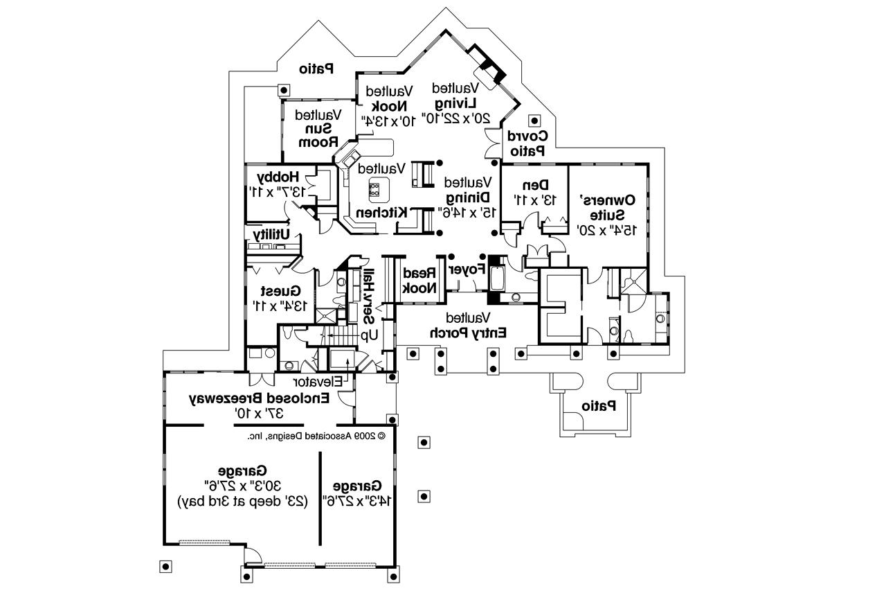 chalet house plans - missoula 30-595 - associated designs