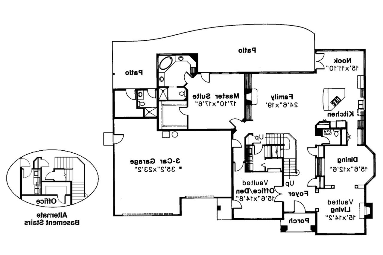 Classic house plans stirling 10 242 associated designs for Classic home floor plans