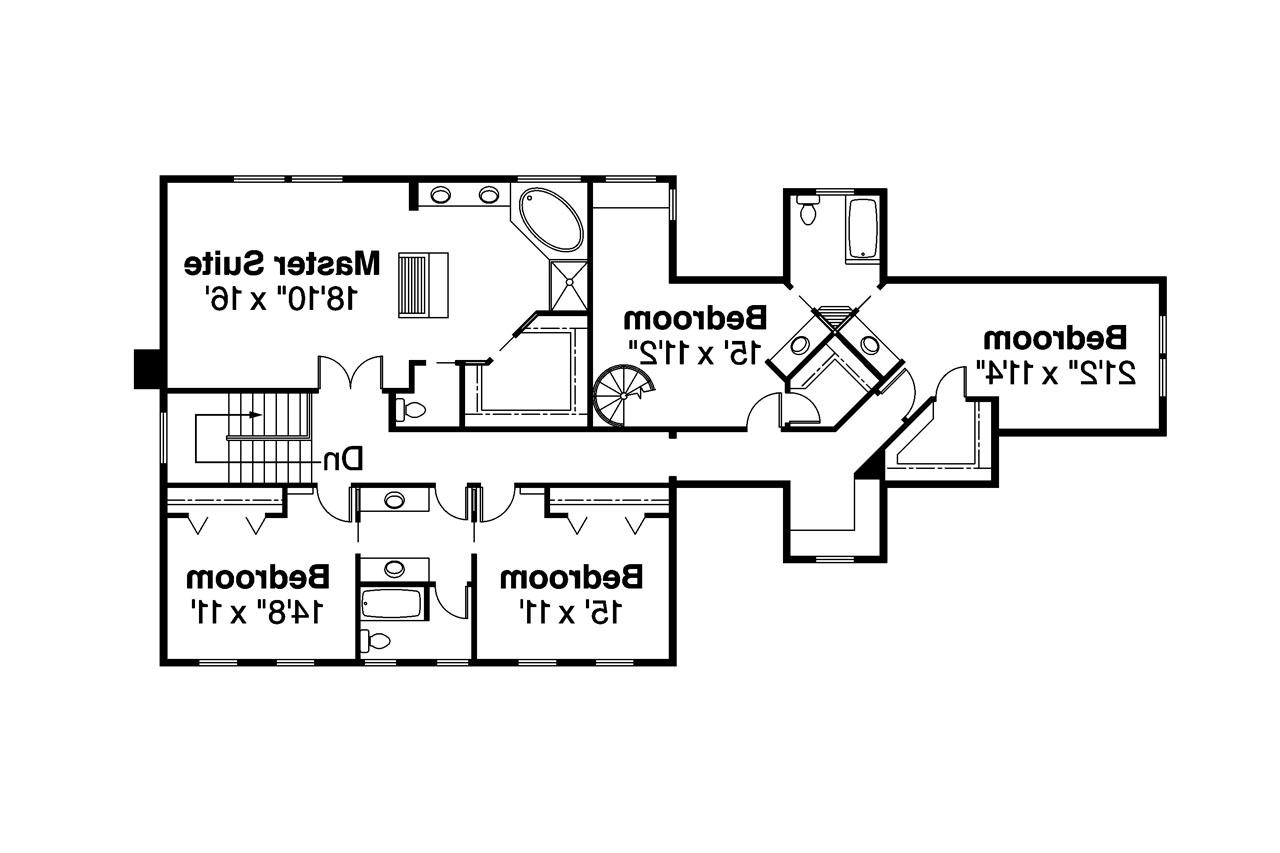 colonial house plans hanson associated designs colonial house plan hanson 30 394 2nd floor plan