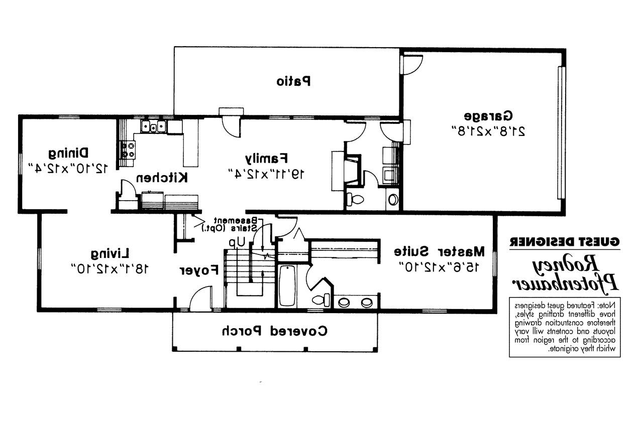 Colonial House Plans Namskaket 42 004 Associated Designs