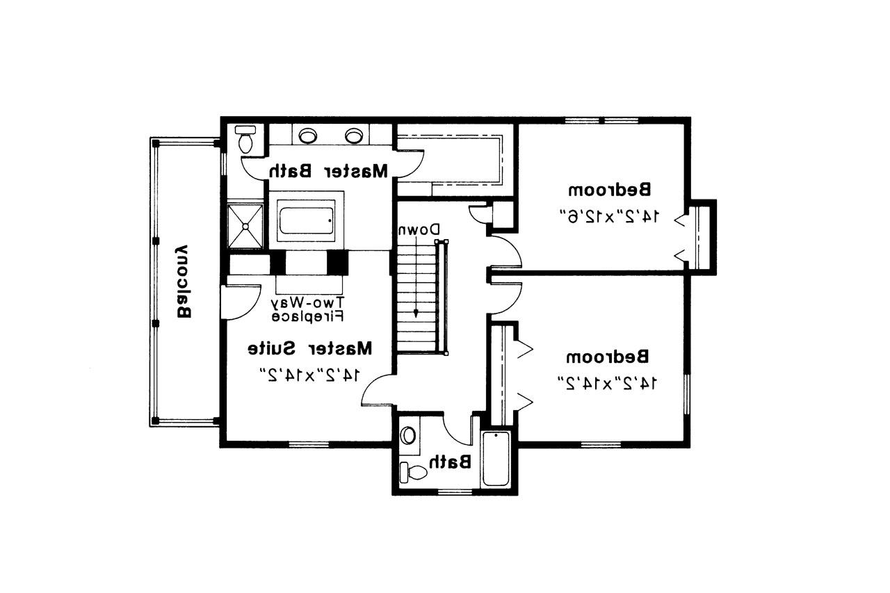 Colonial House Plans - Rossford 42-006 - Associated Designs