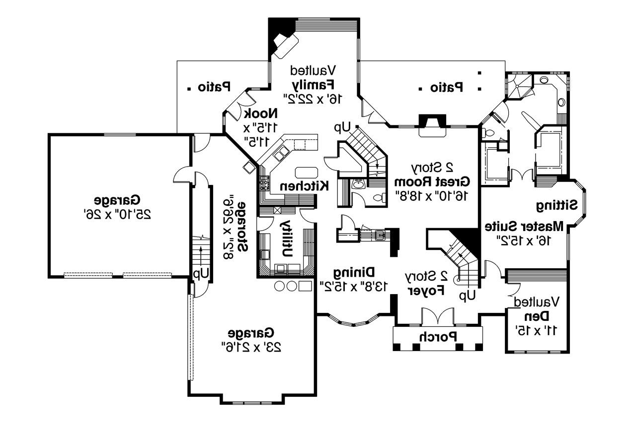 Contemporary house plans aroland 30 121 associated designs for Contemporary home plans free