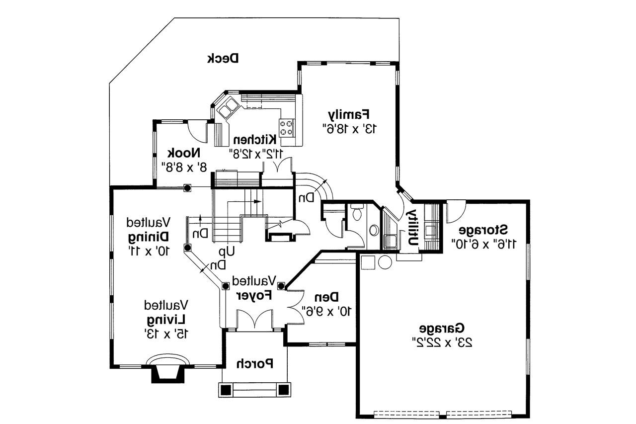 Contemporary House Plans Parker 30 002 Associated Designs