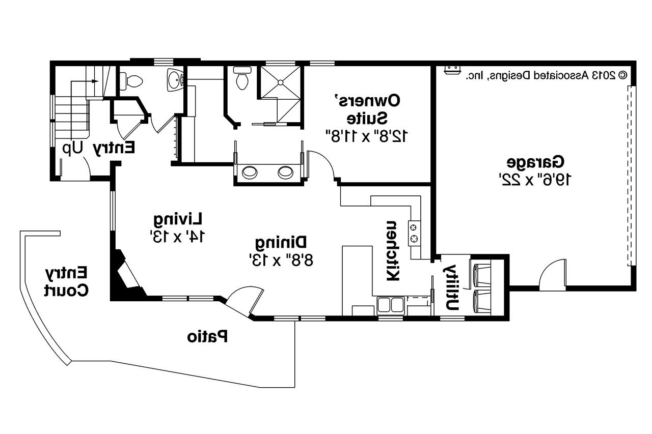 Contemporary House Plans Parkview 30905 Associated Designs – Contemporary House Designs And Floor Plans