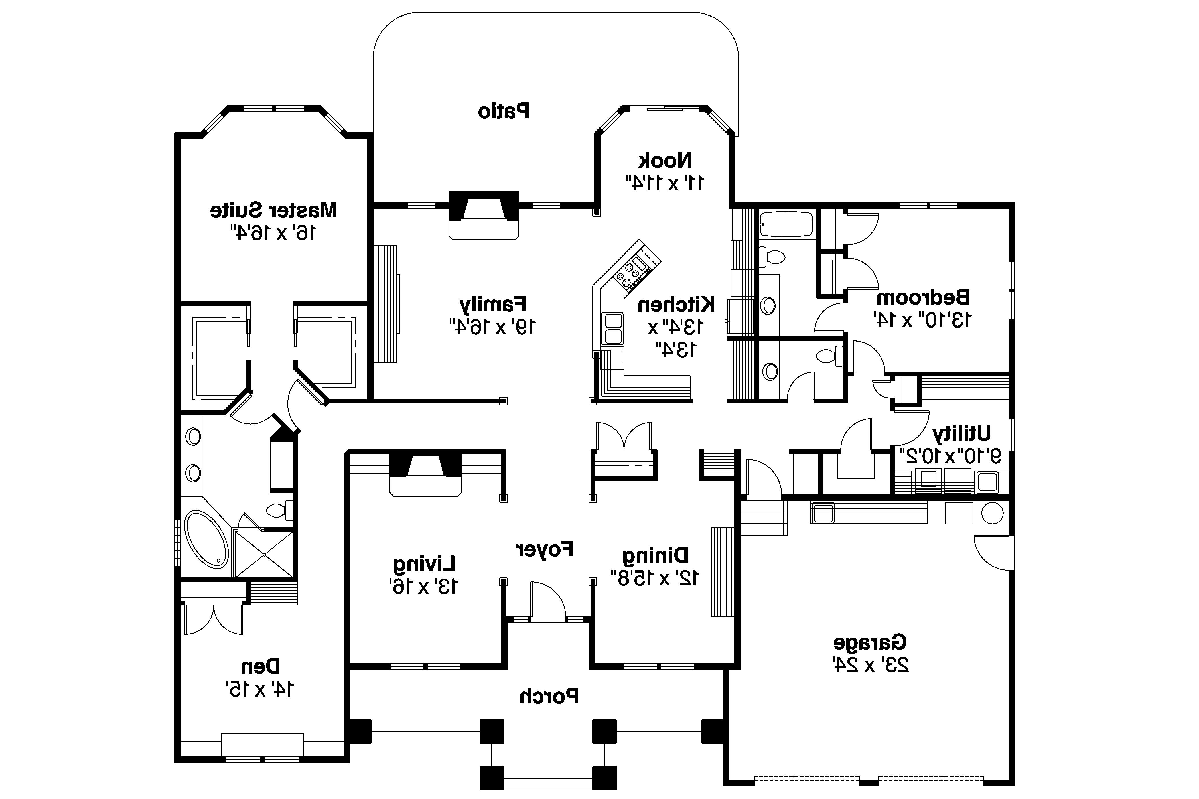 contemporary house plans stansbury 30 500 associated