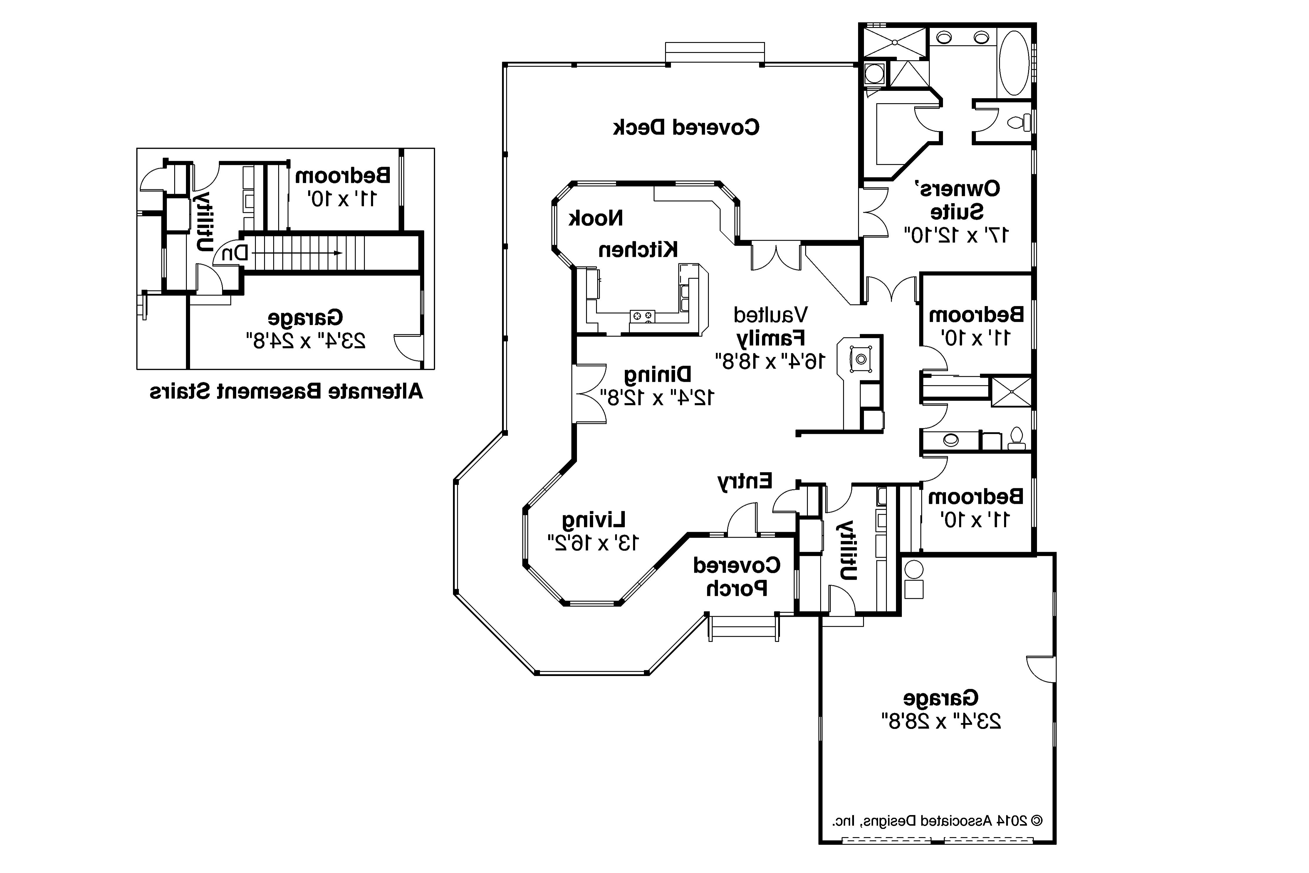 Country house plans cortland 10 195 associated designs - Country house floor plans ...