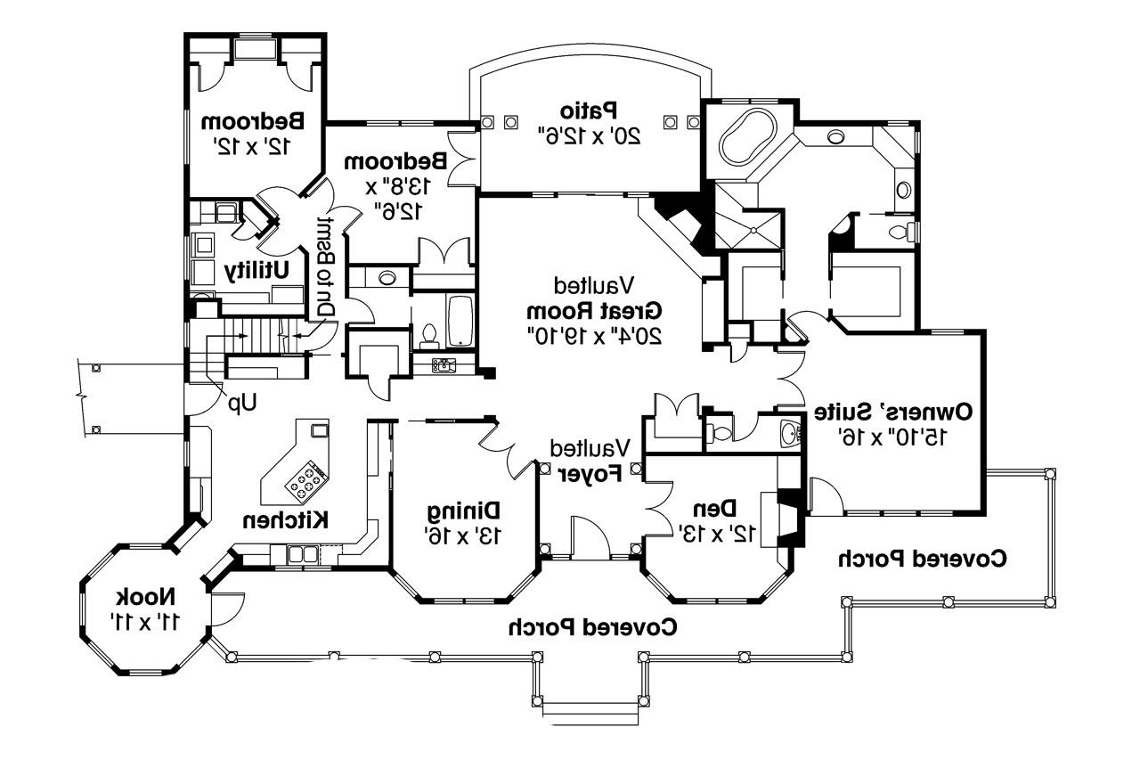 Exceptional ... Country House Plan   Greenbriar 10 401   Floor Plan