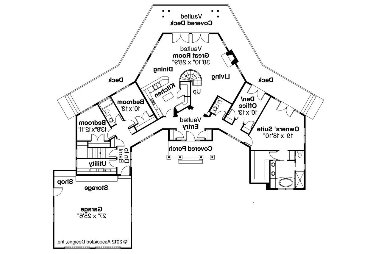 Craftsman House Plans Heartcrest 10 526 Associated Designs