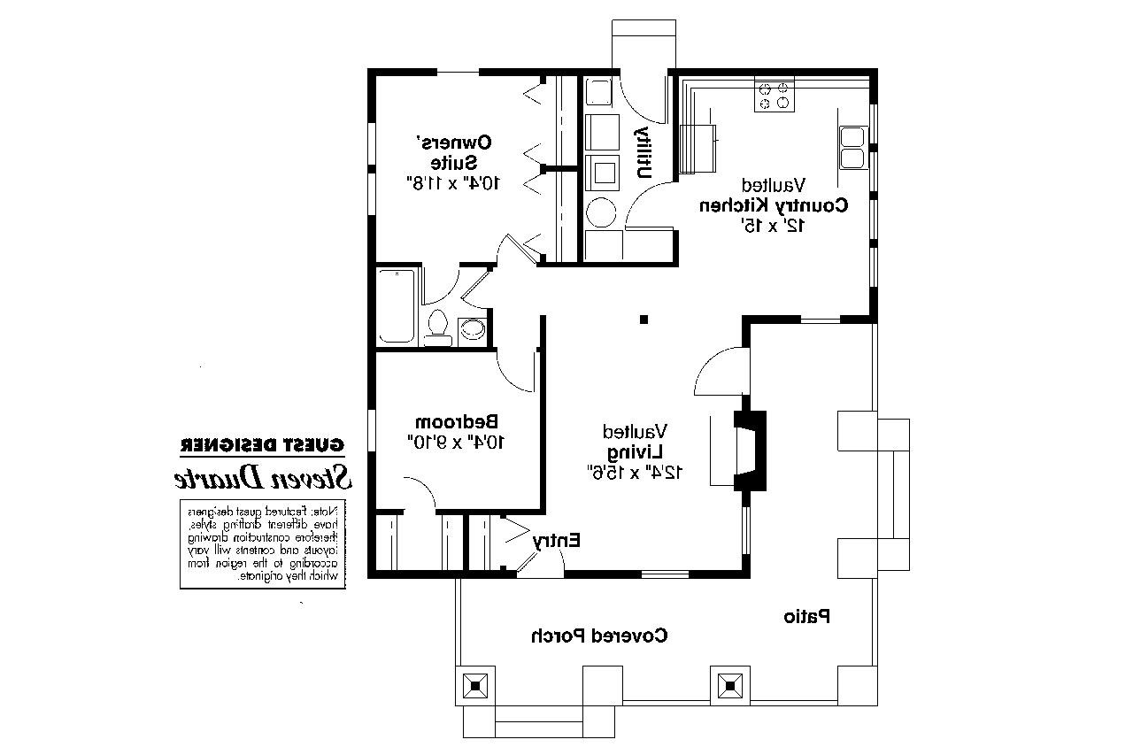 Craftsman house plans pinewald 41 014 associated designs for Craftsman floor plans