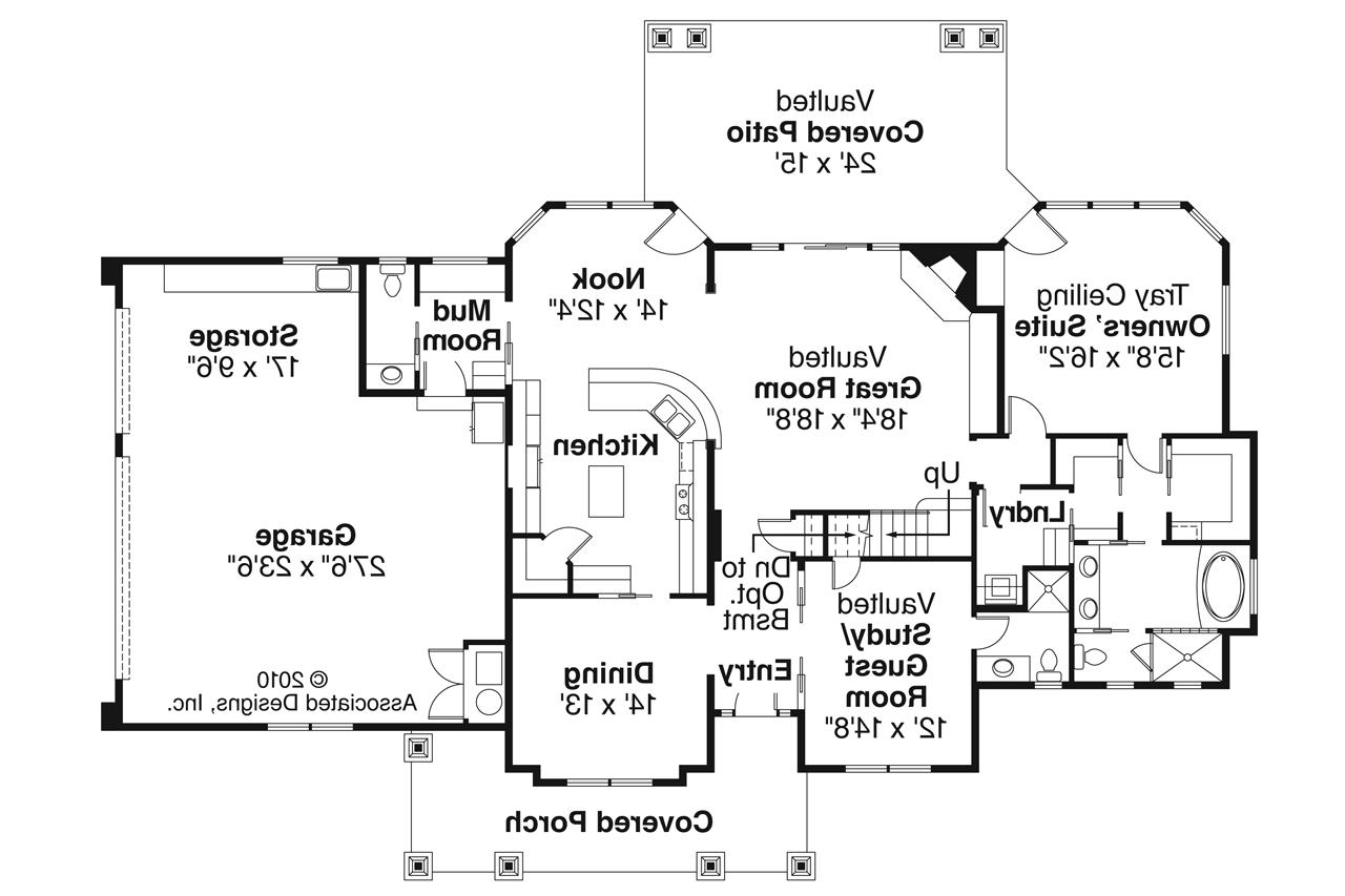 Craftsman Bungalow House Floor Plans