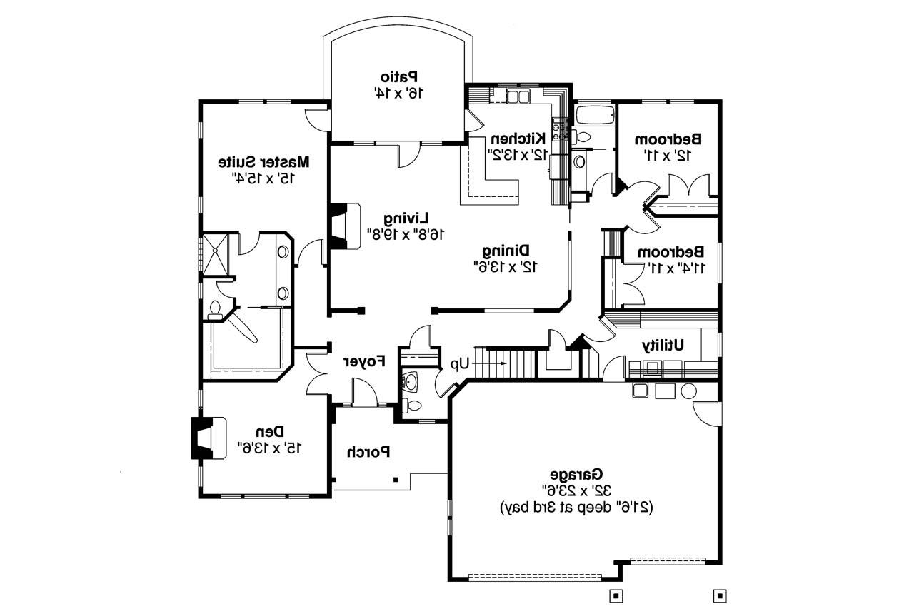 Craftsman house plans whitingham 30 501 associated designs for Craftsman floor plans