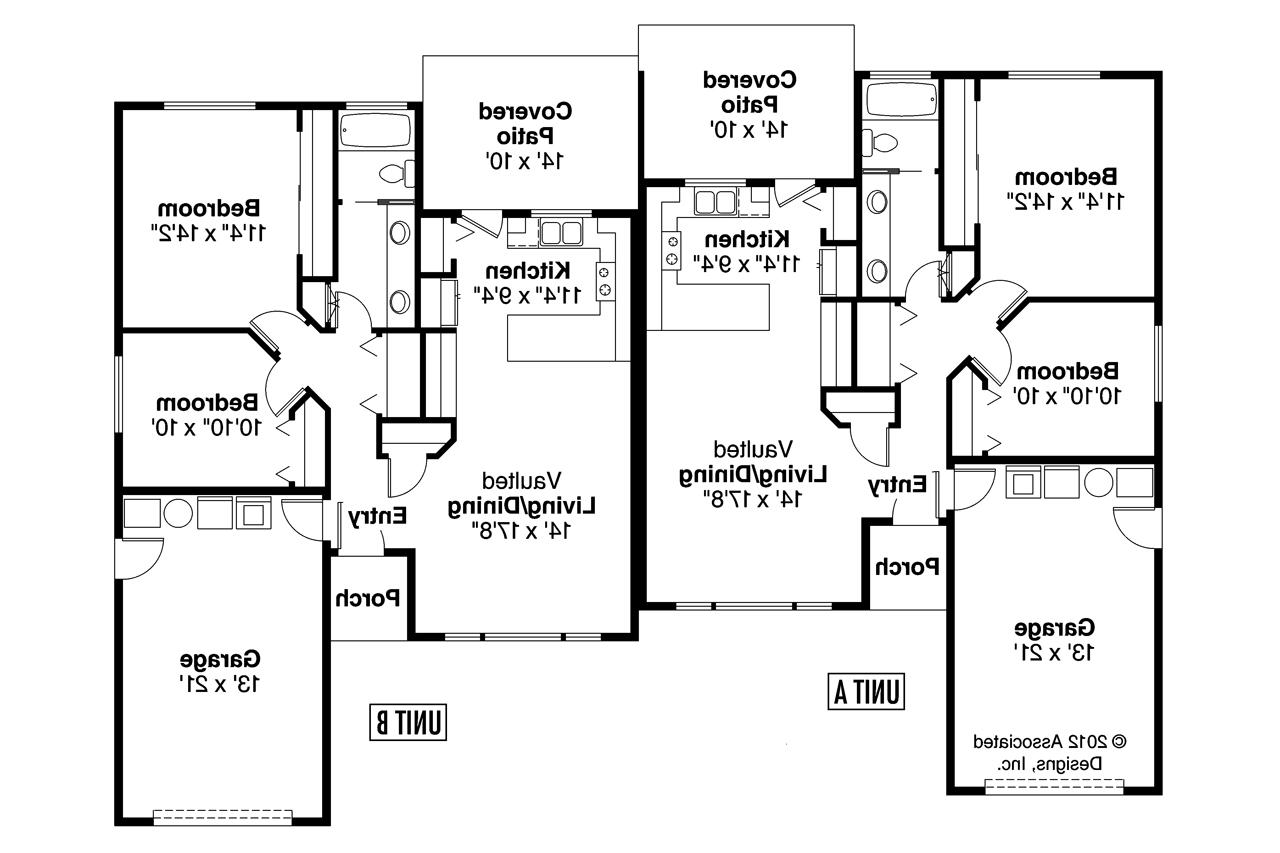Duplex floor plans for Duplex plan design