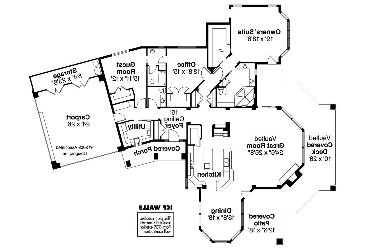17 amazing house plans florida house plans 64155 for House plans for florida homes