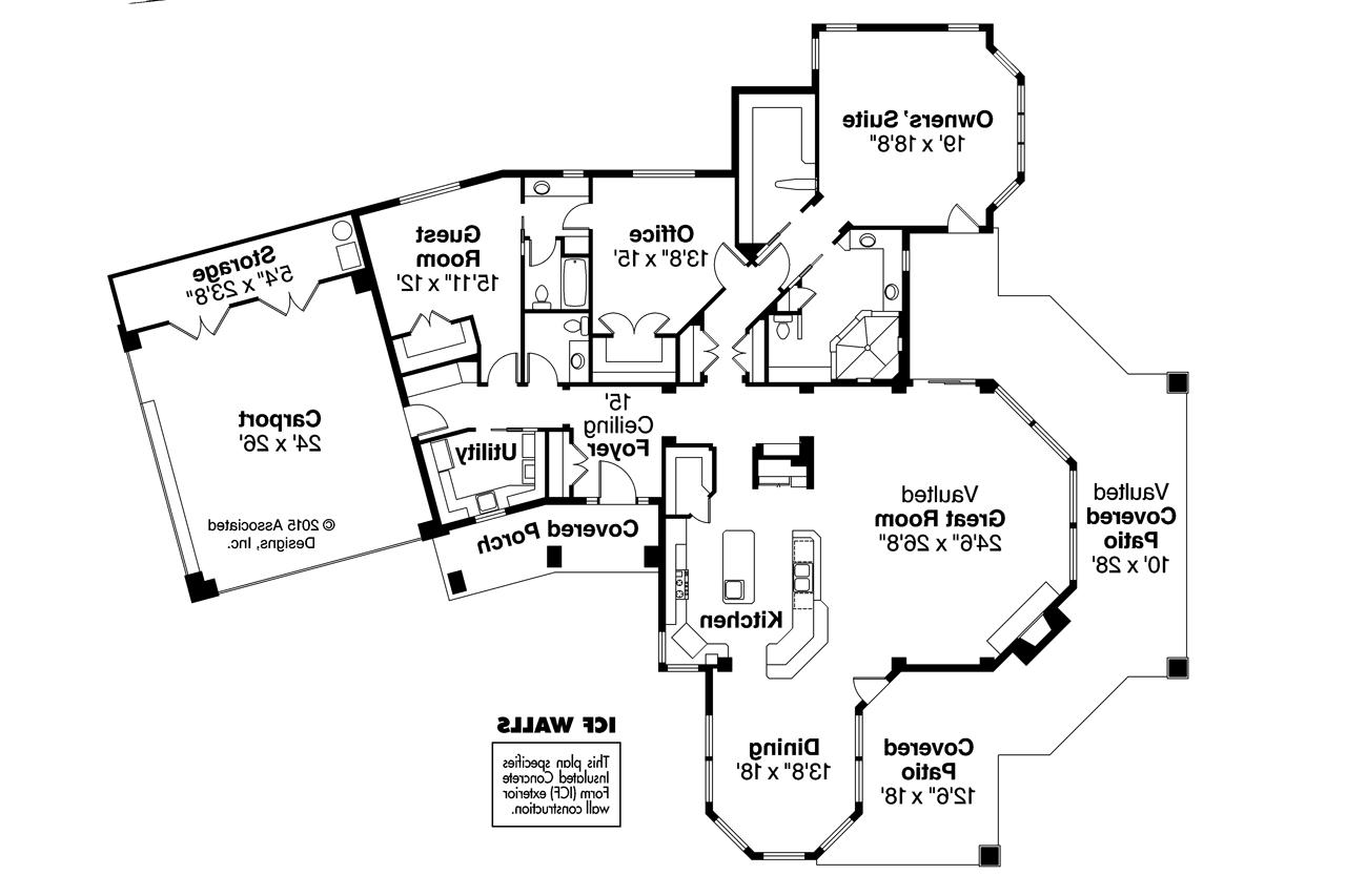 Icf home plans florida home plan for Icf home designs