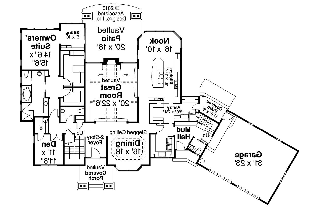 Home plans with attached barn for House plans with attached inlaw apartment