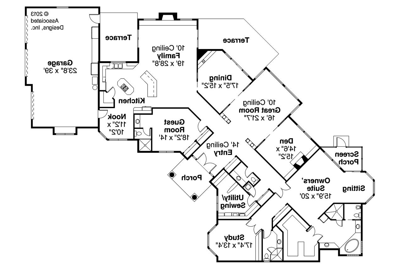 Mediterranean house plans braxton 11 040 associated for Mediterranean house floor plans
