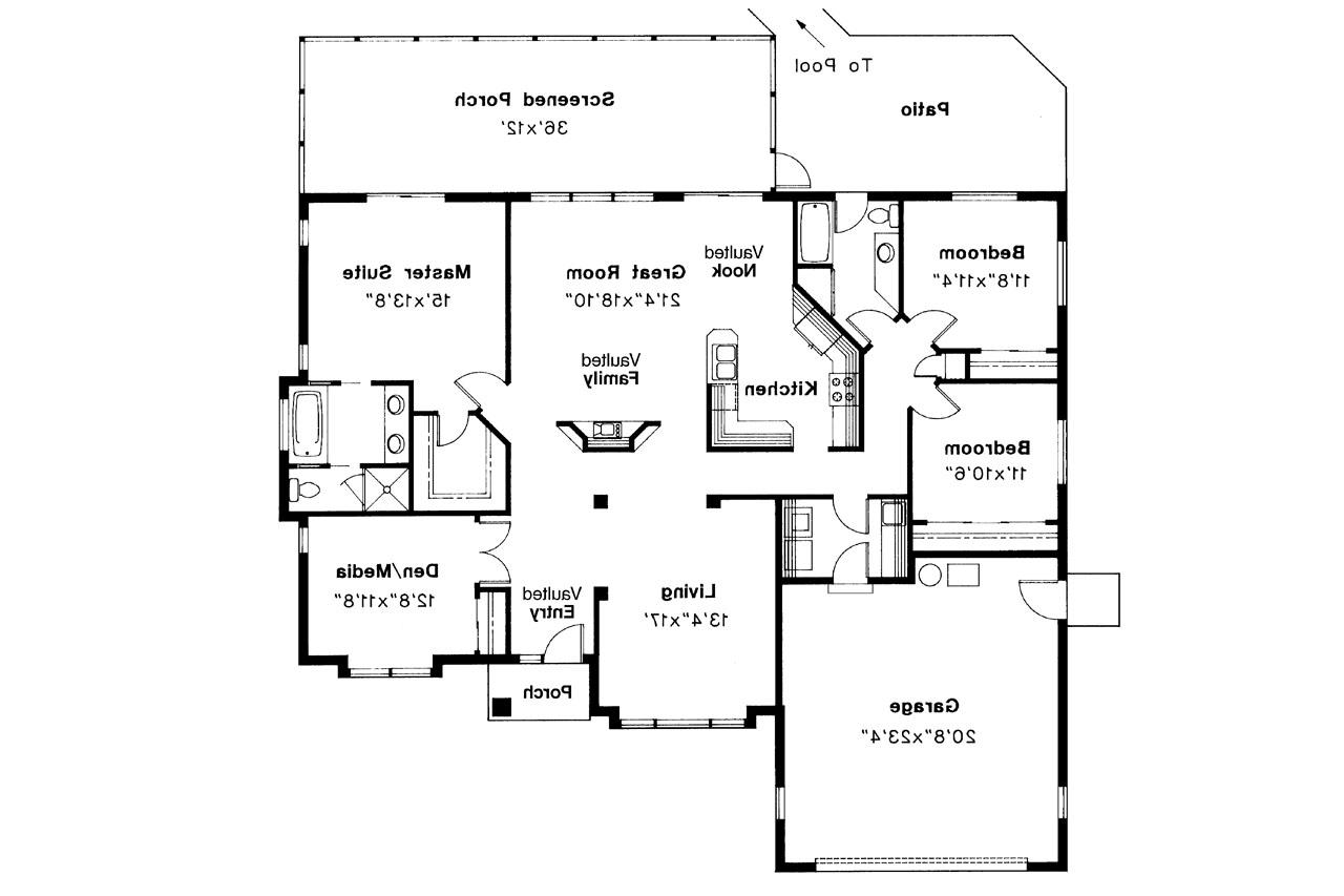 Mediterranean house plans cypress 11 001 associated for Mediterranean house designs and floor plans