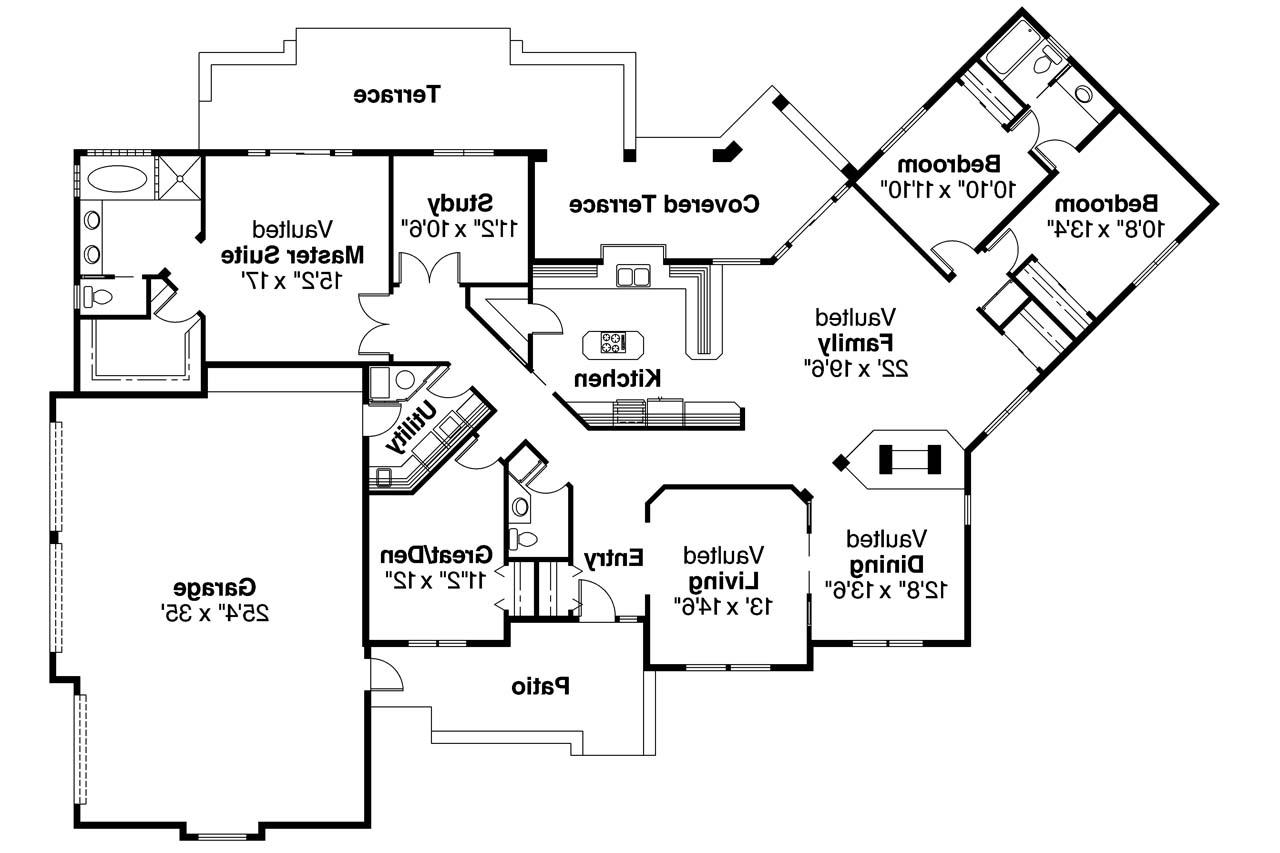 Mediterranean House Plans Grenada 11 043 Associated