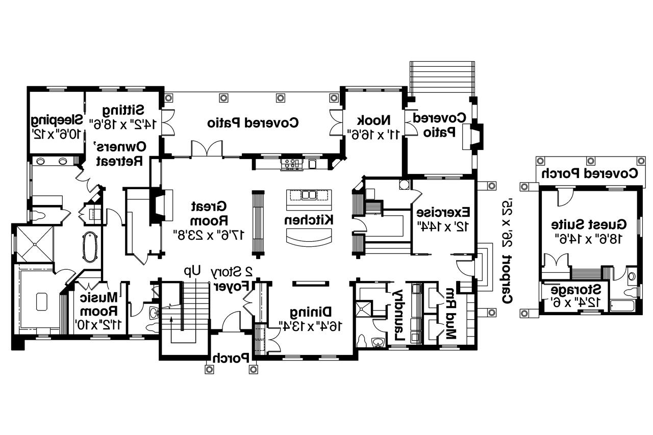 Mediterranean house plans rossano 30 569 associated for Mediterranean house floor plans