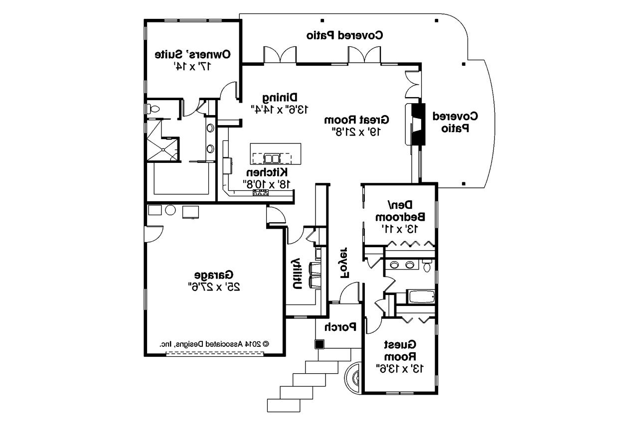 Prairie style house plans juniper 30 964 associated for Juniper floor plan