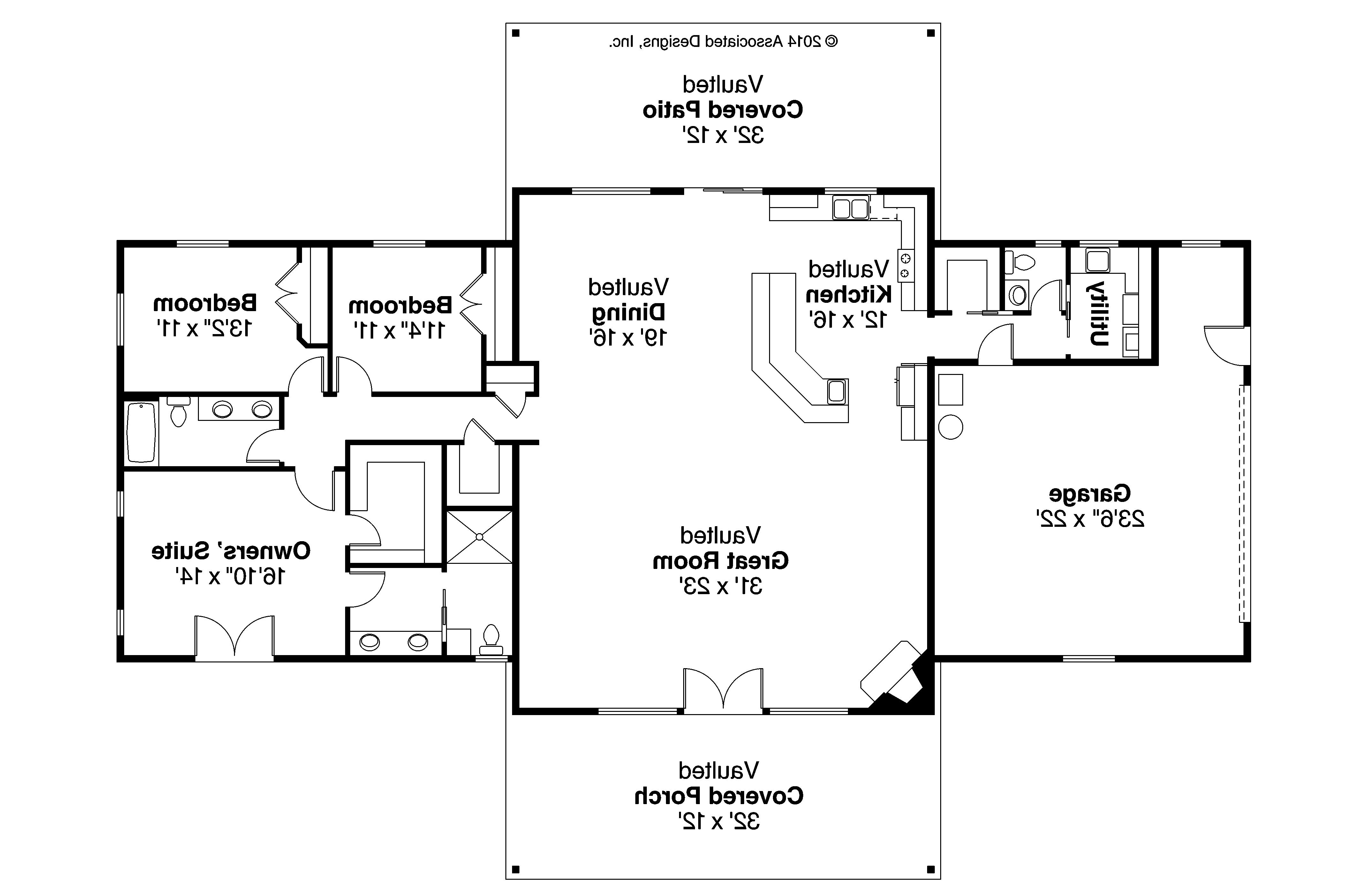 Ranch Home Plans country ranch house plans floor Ranch House Plan Anacortes 30 936 Floor Plan
