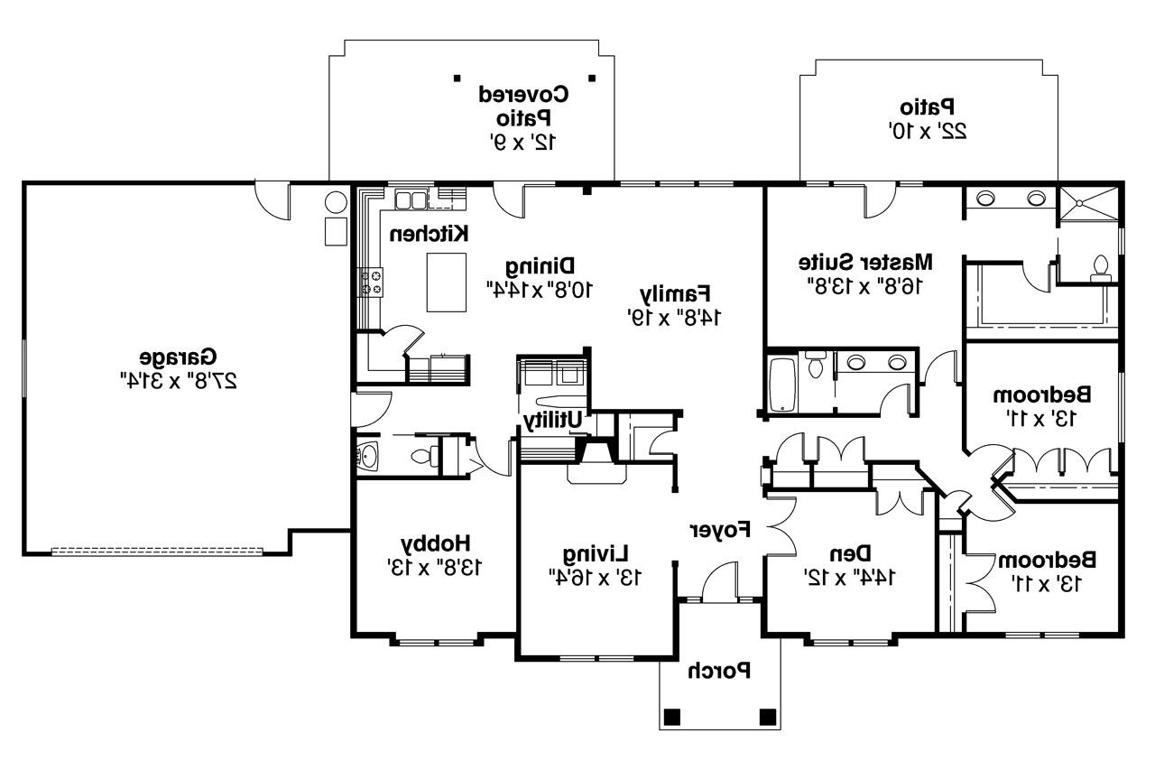 House Floor Plans Of Ranch House Plans Brennon 30 359 Associated Designs