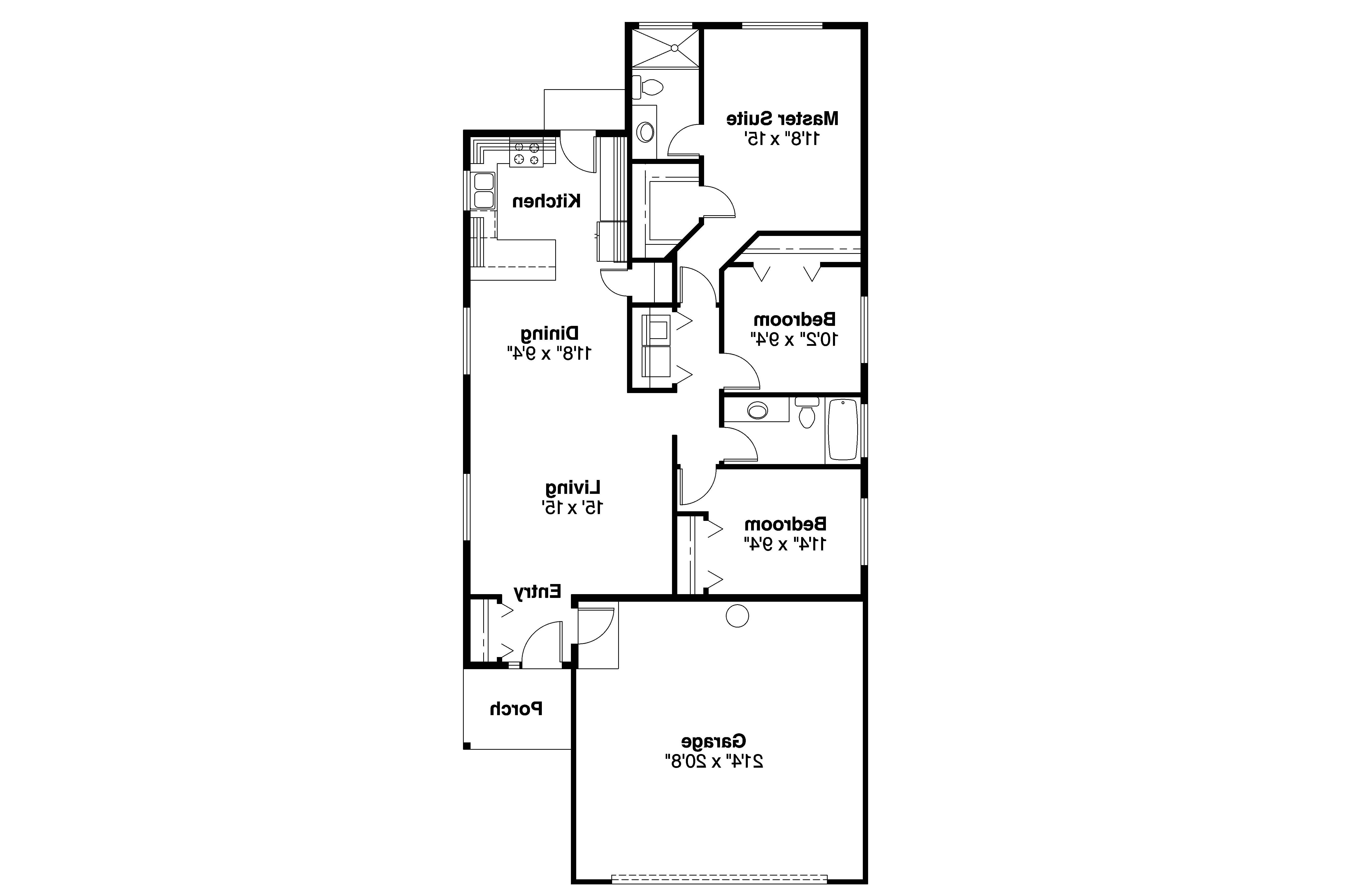 Ranch house plans greer 30 484 associated designs for House floor plans
