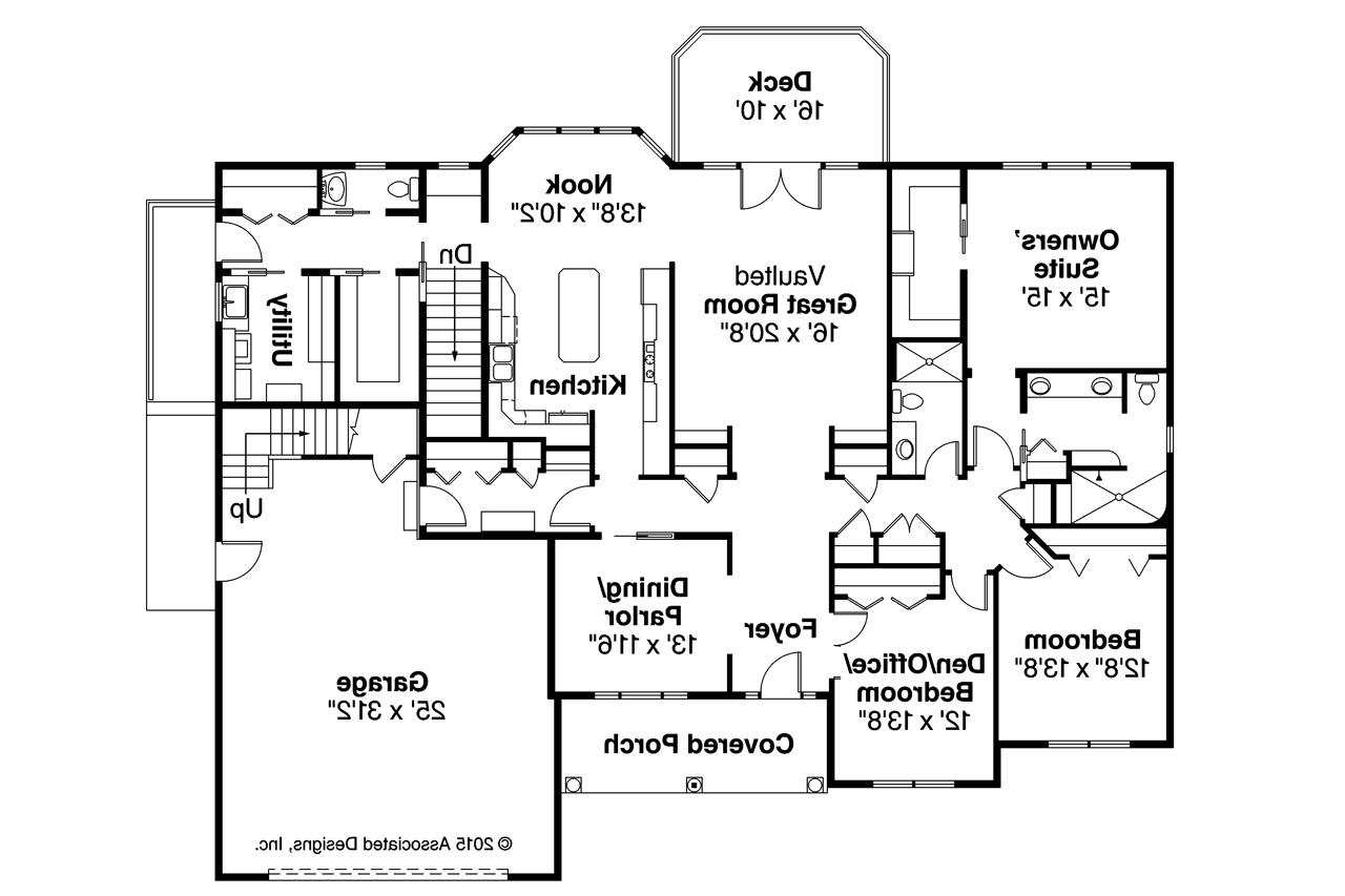 Ranch house plans hampshire 30 799 associated designs for One level ranch home floor plans