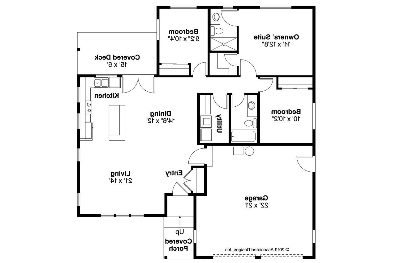 ranch house plan kenton 10 587 floor plan - Small Ranch House Plans
