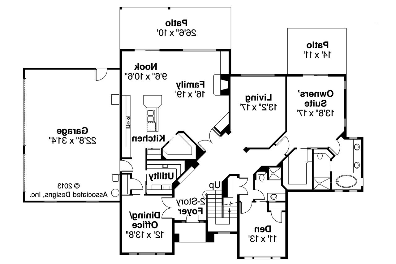 Traditional house plans bloomsburg 30 667 associated for Non traditional house plans