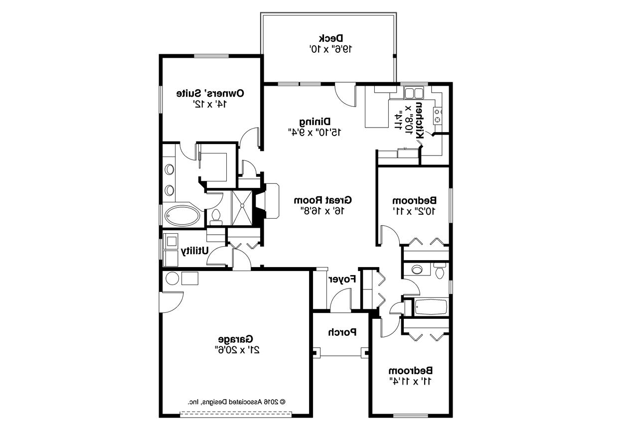 Traditional house plans ferndale 31 026 associated designs for Traditional house plans