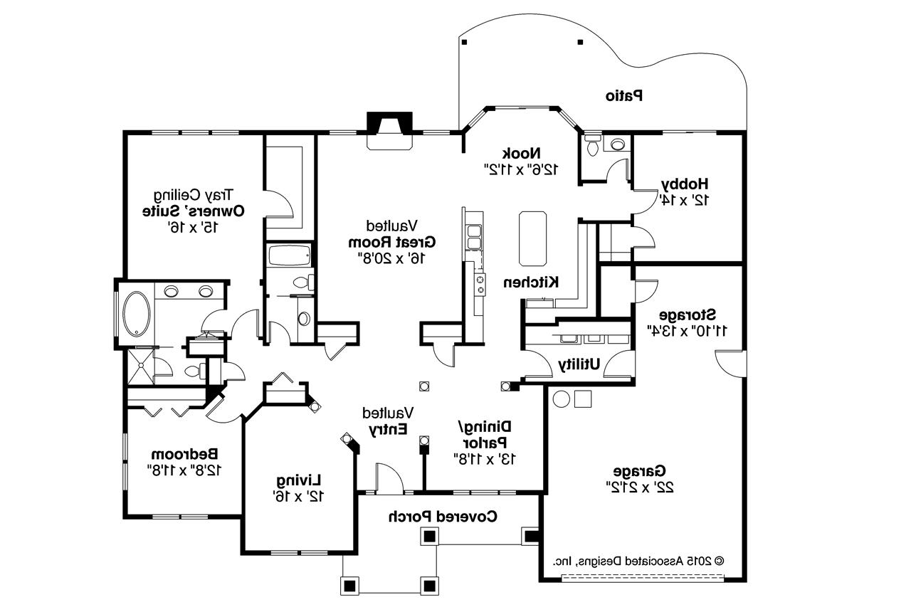 100 Traditional House Floor Plans L Shaped