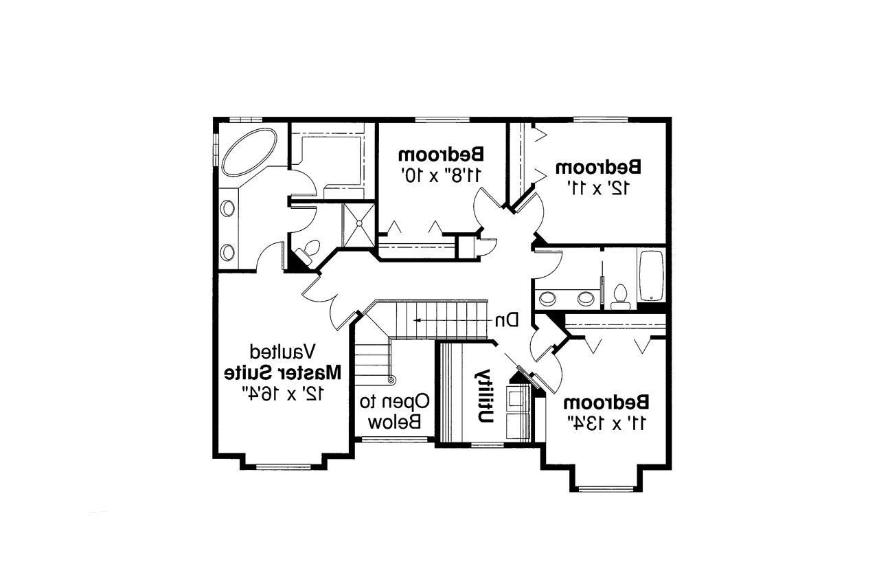 Traditional house plans westhaven 30 173 associated for Traditional floor plans