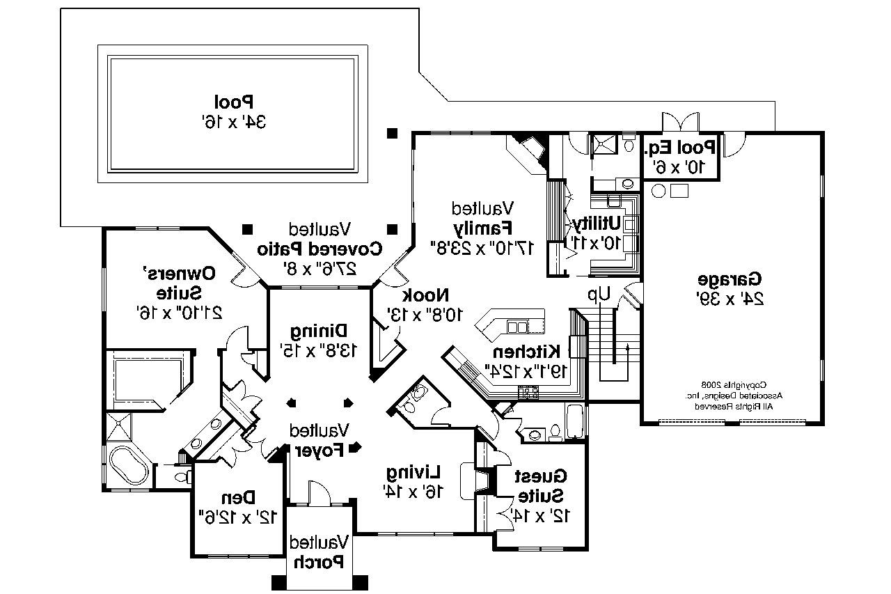 Tuscan house plans meridian 30 312 associated designs for Tuscan house plan