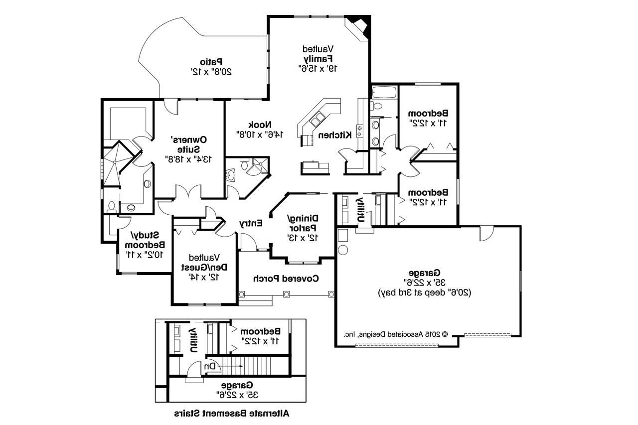 Tuscan house plans brittany 30 317 associated designs for House plans floor plans