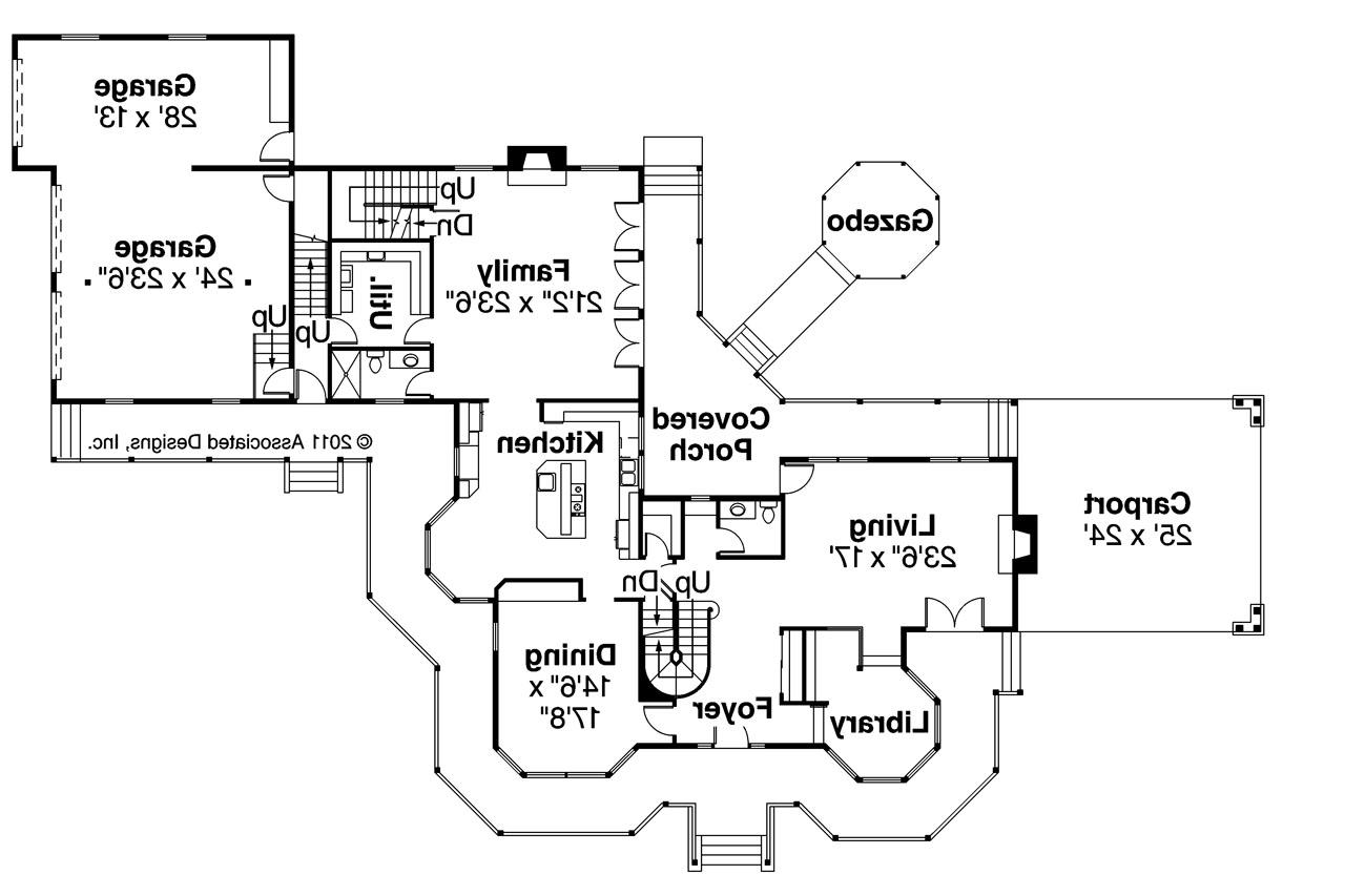 Victorian House Plans - Victorian 10-027 - ssociated Designs - ^