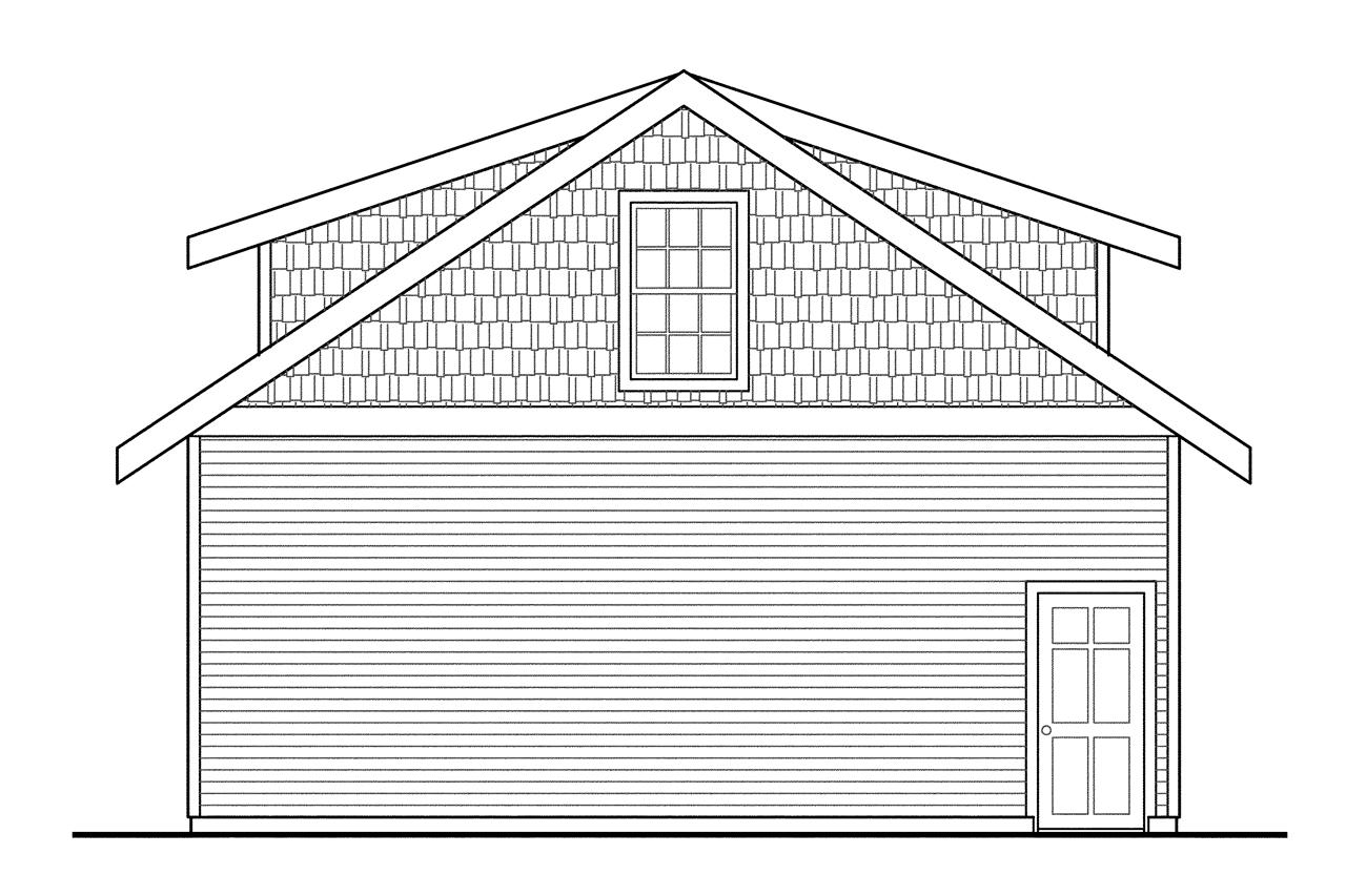 Two story garage plans bing images for 2 story 2 car garage plans