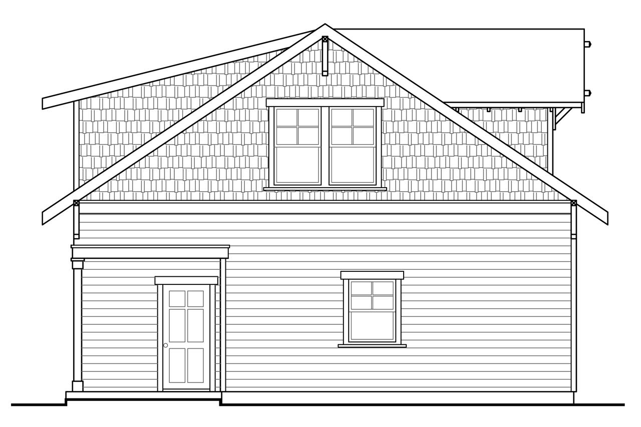 Cottage house plans garage w rec room 20 111 for 2 story workshop plans