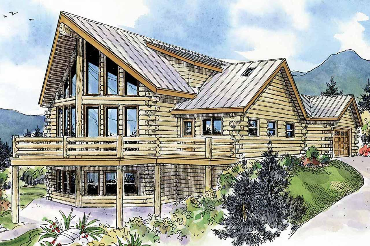 A-Frame House Plans - Kodiak 30-697 - Associated Designs