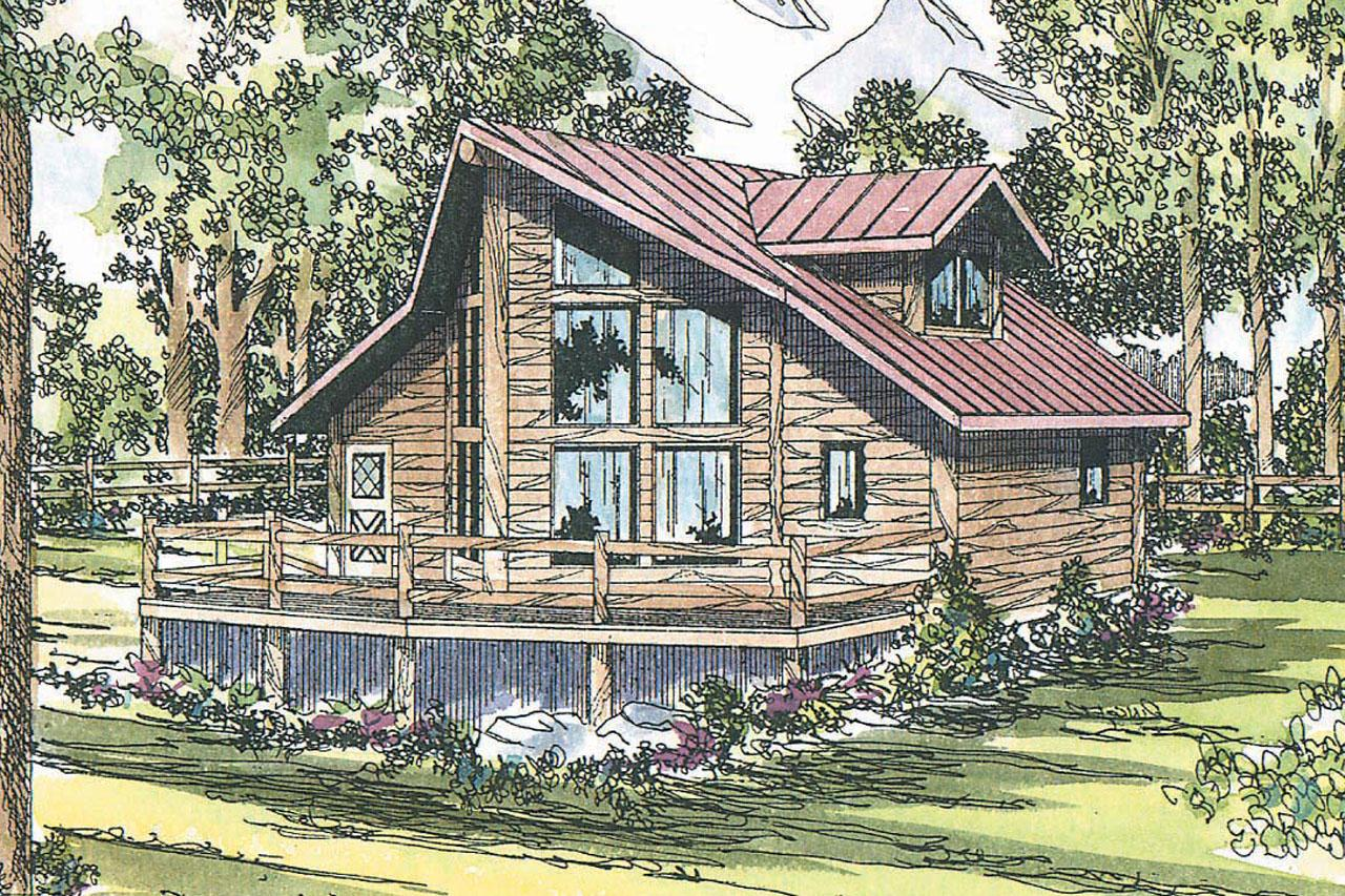 Sylvan 30 023 A Frame House Plans Cabin Vacation