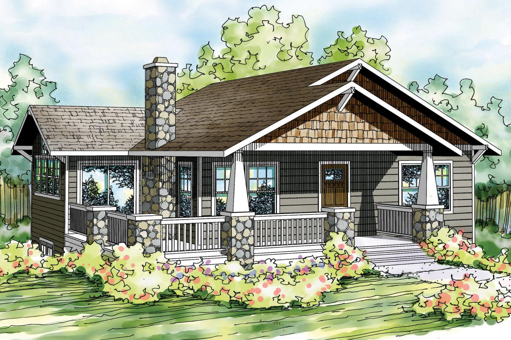 Bungalow house plans lone rock 41 020 associated designs for Bungalow house plans