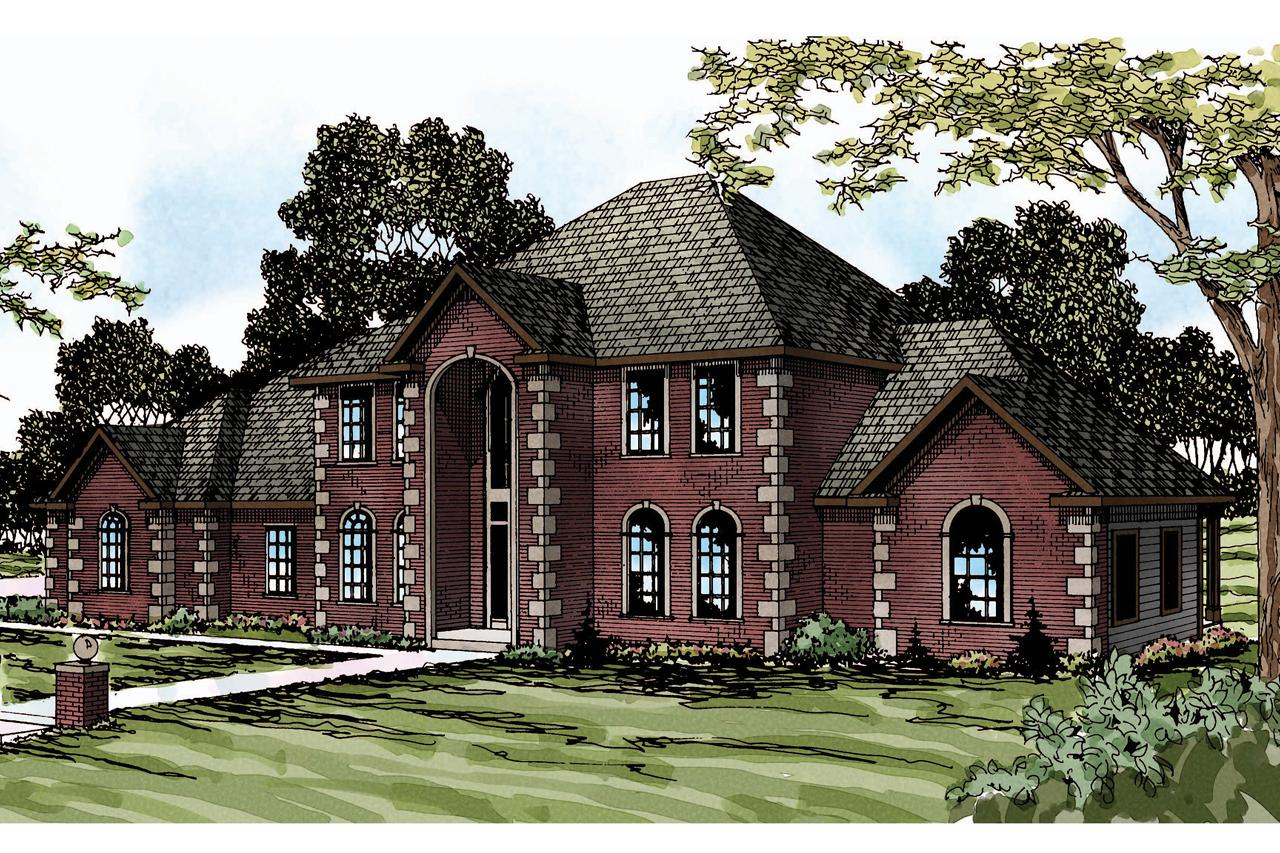 Front Elevation Classic : Classic house plans kersley associated designs