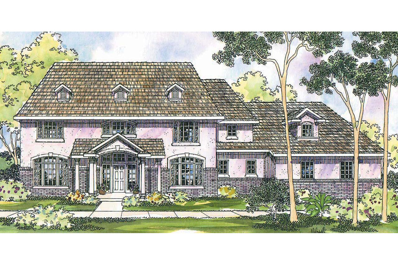 Front stepped colonial house elevation design joy studio for Stepped house plans