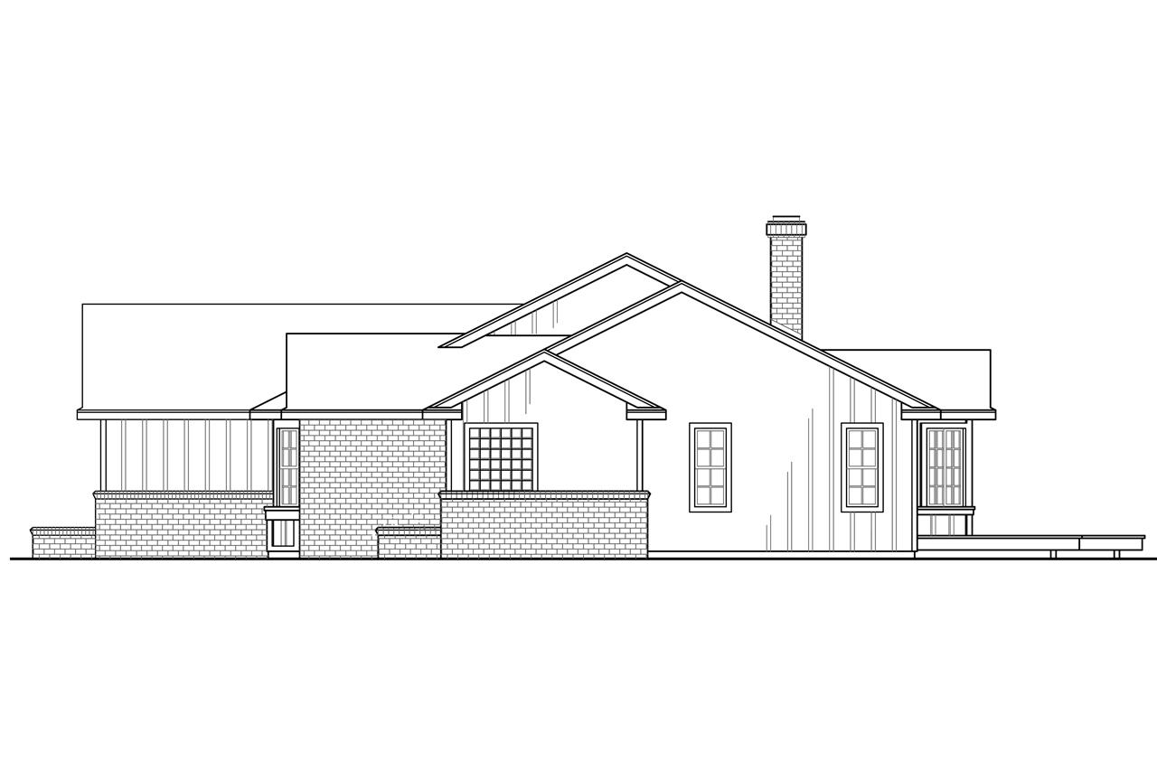 Ranch house plans eastport 10 548 associated designs for Corner house plans