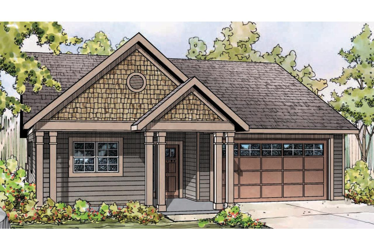 Country Cottage Elevation : Cottage house plans caspian associated designs