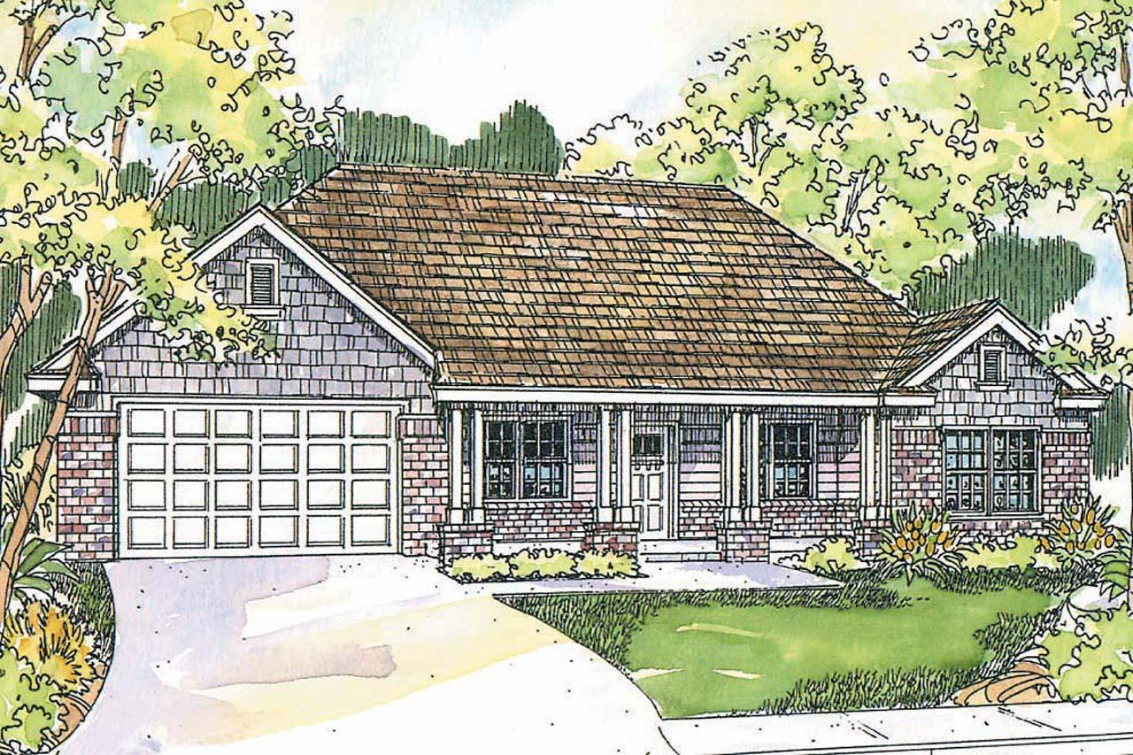 Craftsman House Plans Adrian 30 511 Associated Designs
