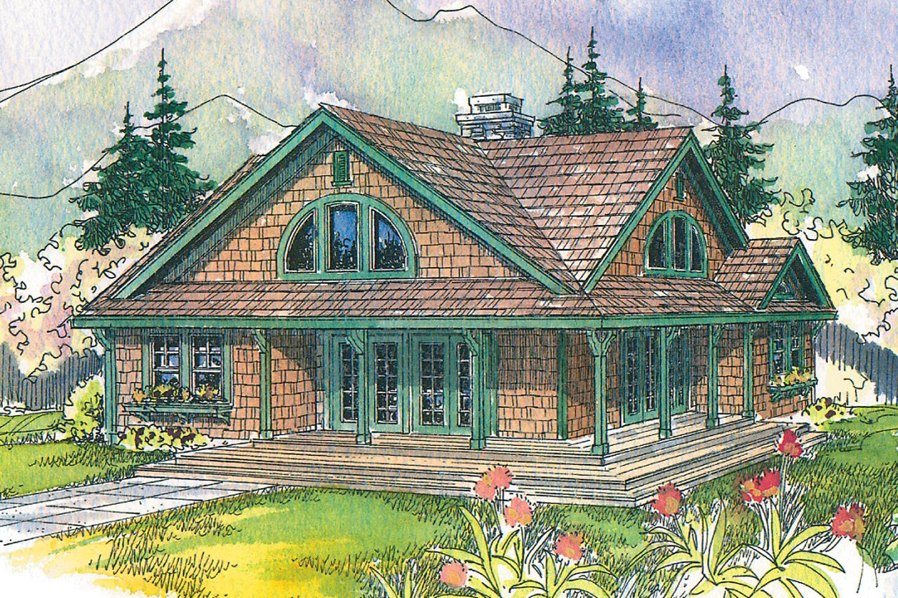 Craftsman House Plans Cedar View 50 012 Associated Designs